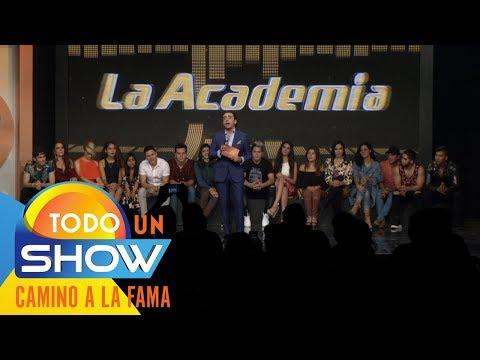 ¡Así arranca La Academia 2018! | Todo un show