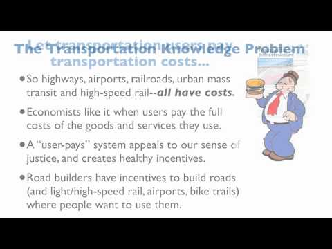 Economics of Transportation Policy, Part 1