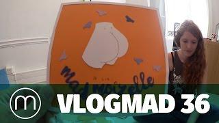 Vlogmad n°36 — Grosse Teuf, atelier stickers et éco-orgasme !