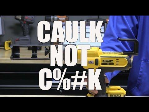 DeWALT DCE560B 20V Caulk and Adhesive Gun