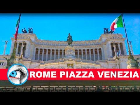 ALTARE DELLA PATRIA - PIAZZA VENEZIA - ROME ITALY - 4K 2017 - TRAVEL GUIDE