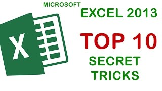 Top 10 Secret Tricks in Excel