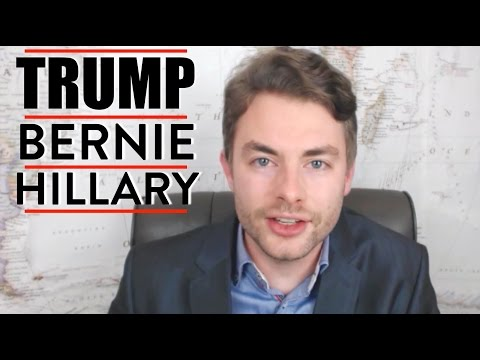 Paul Joseph Watson Talks Donald Trump, Bernie Sanders, and Hillary Clinton