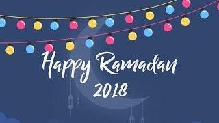 #Ramadan Kareem Wishes 2018   Best Animation Ramadan Mubarak Wishes, Whatsapp Video   Silly Kids