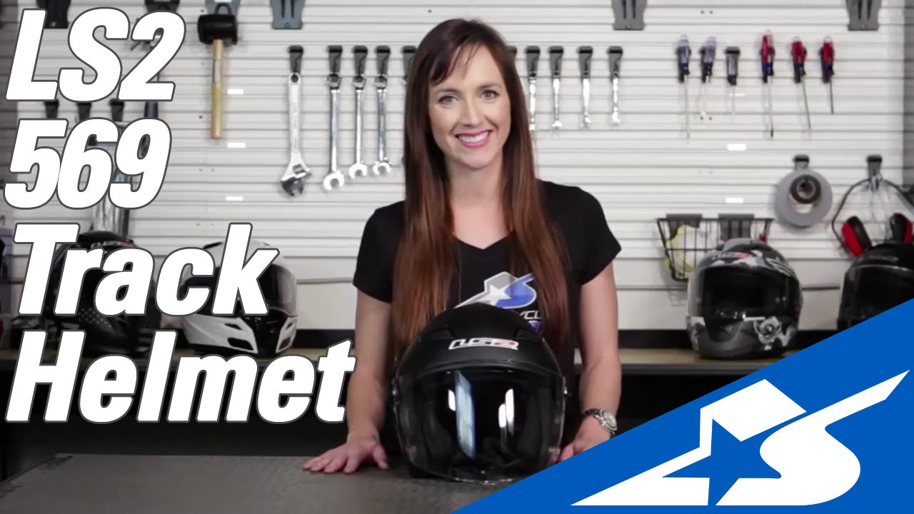 e1e0ff5b LS2 569 Track Helmet Review | Motorcycle Superstore - YouTube