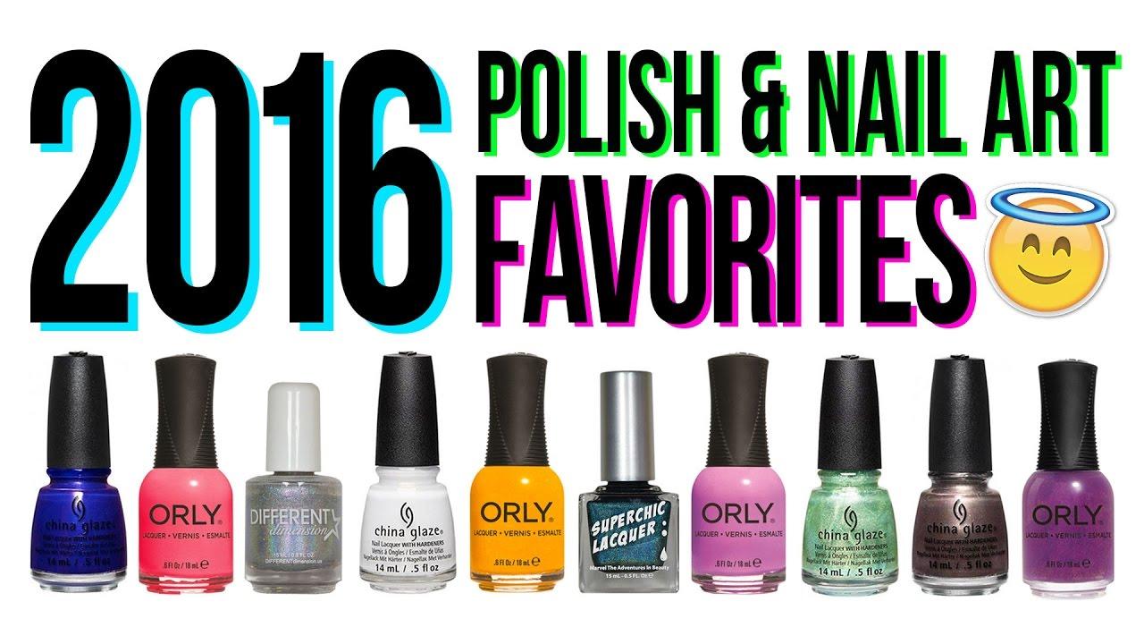 2016 Polish & Nail Art Products Favorites | TWI_STAR - YouTube