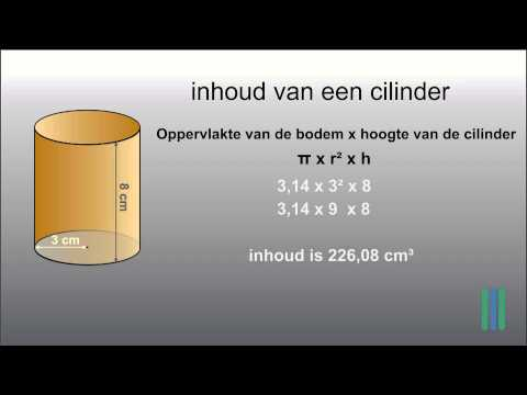 oppervlakte cilinder from YouTube · Duration:  1 minutes 54 seconds