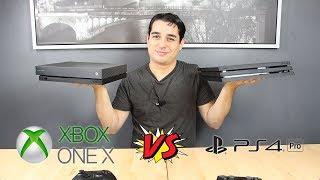 Xbox One X vs PS4 Pro | Laquelle choisir pour le Black Friday 2018 ?