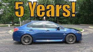 5 Years with a 2015 WRX!