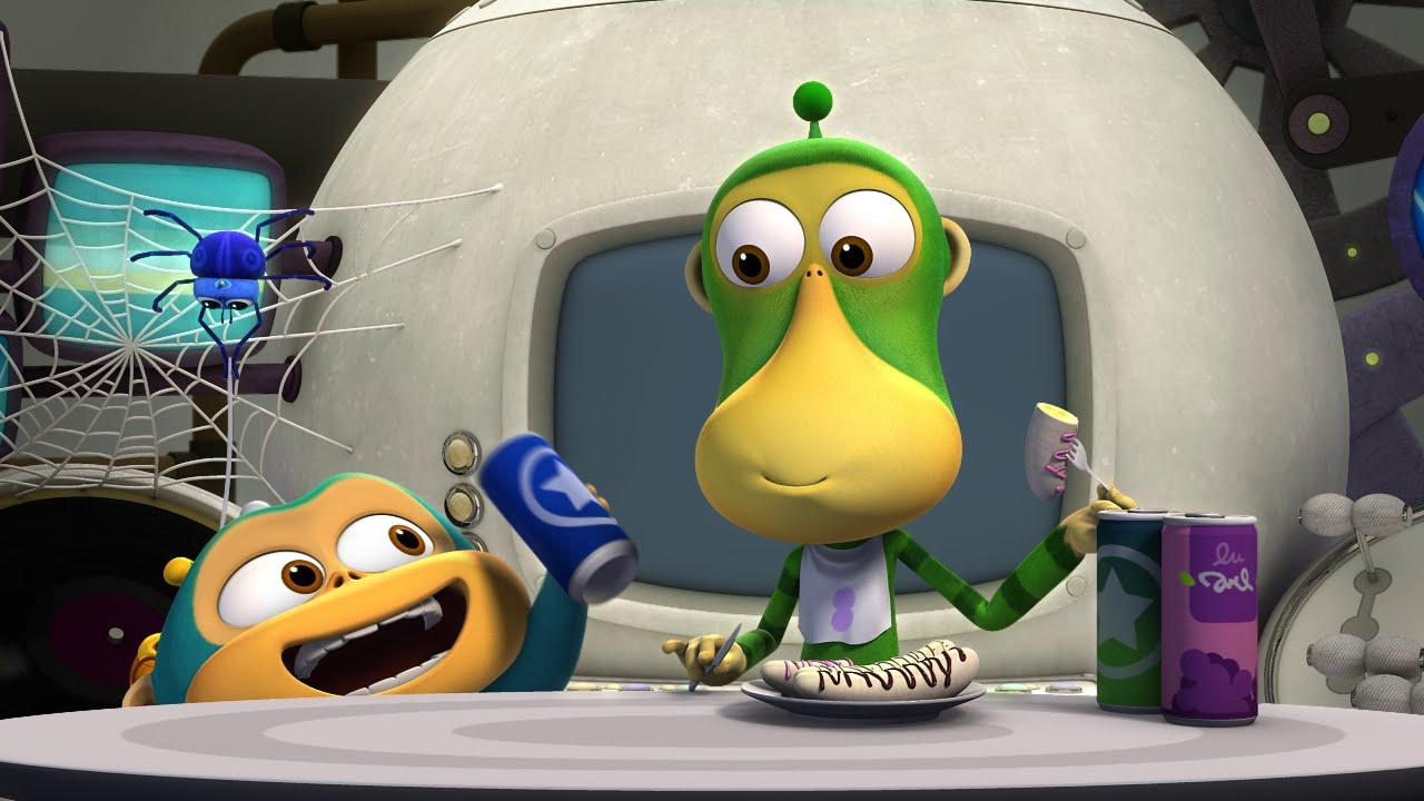 ОБЕЗЬЯНКИ ИЗ КОСМОСА (Alien Monkeys) - ИКОТА (44 серия) | Смешные мультики