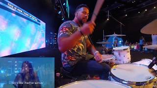Download Drum Cover - Surrounded - Upper Room Mp3 and Videos