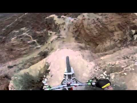 GoPro: Backflip Over 72ft Canyon - Kelly McGarry Red Bull Rampage 2013 with music !!!