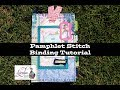 Pamphlet Stitch Binding Tutorial