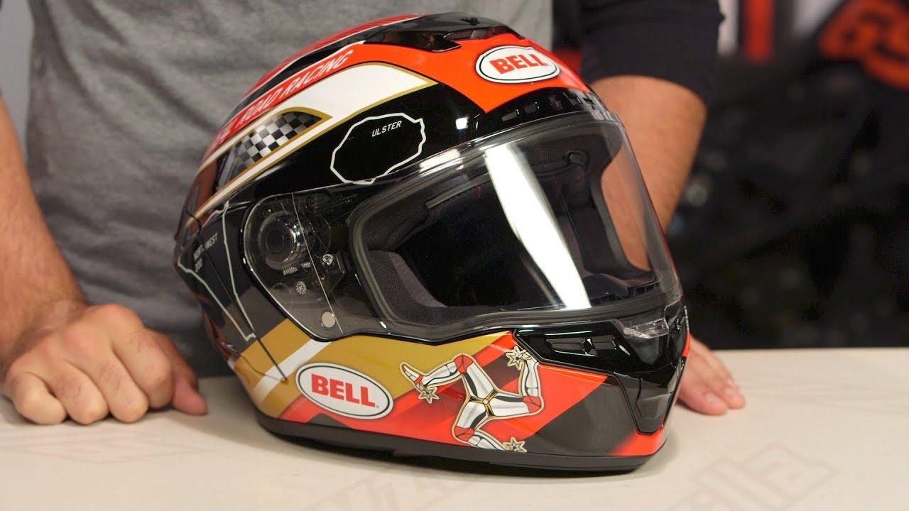 Bell Motorcycle Helmet >> Bell Star MIPS Isle of Man 2018 Helmet Review at RevZilla.com - YouTube