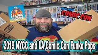 2019 NYCC and LA Comic Con Funko Pops | Unboxing