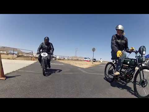 Moped racing SoCal - Afternoon official race mid range class