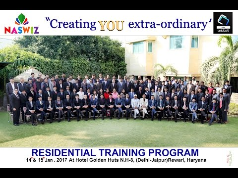 Residual Training Program | 14th & 15th January 2017 |  Naswiz | Spanzier WorldWide | Golden Huts