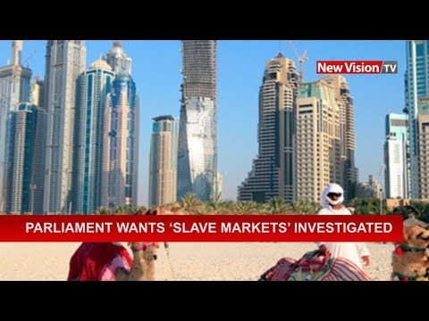Parliament wants 'slave markets' investigated