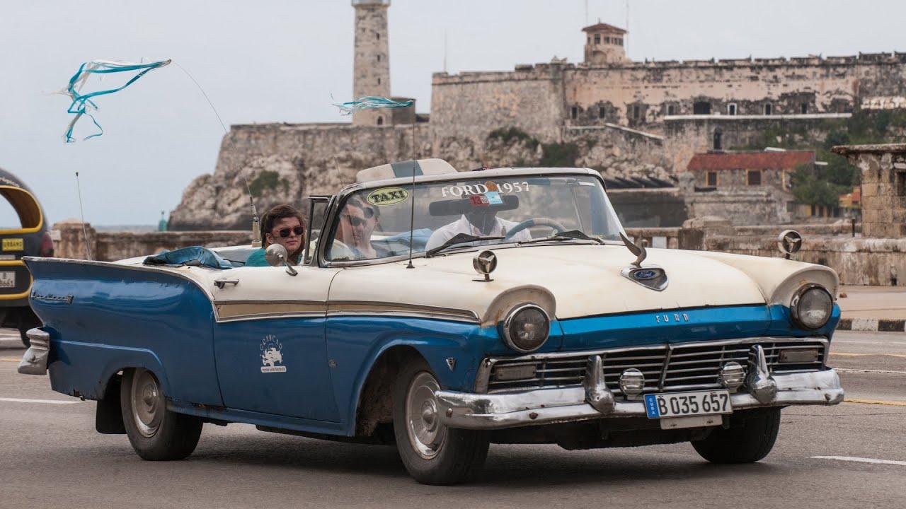 Los carros antiguos en las calles de Cuba - YouTube