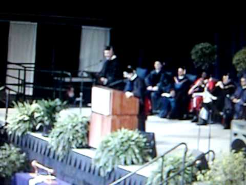 Dean faints at Penn State PSU Commencement graduation