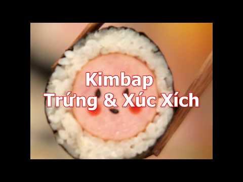 [Cookat Việt Nam] Kimbap Trứng & Xúc Xích