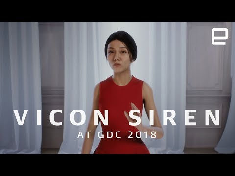 Vicon Siren first look at GDC 2018