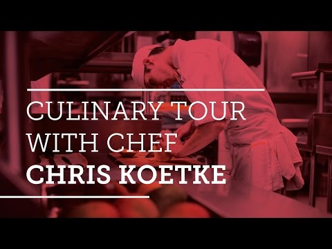 Culinary Tour of Kendall College with Chef Chris Koetke