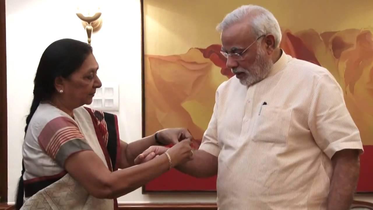 anandiben patel and narendra modi relationship help