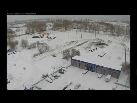 Строительство развязки  ул.Петухова г. Новосибирск