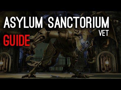 Asylum Sanctorium veteran Guide - Clockwork City Elder Scrolls Online ESO