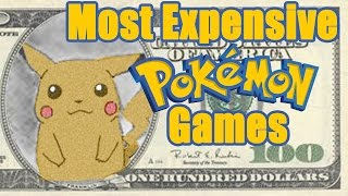 The Most Expensive Pokemon Games