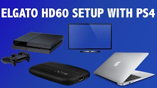 How to Setup the Elgato HD60 for PS4 (EASY TUTORIAL)