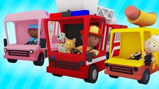 Download Trucks At The Car Wash! | Best of Carl's Car Wash Season 1 | Cartoons For Kids Mp3 and Videos