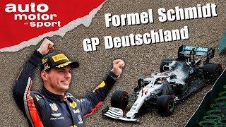 Kann Verstappen noch Weltmeister werden? - Formel Schmidt GP Deutschland 2019 | auto motor und sport