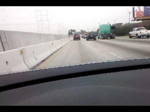 Driving to San Fernando Valley.