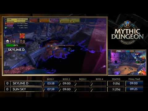 Grand Final! MDI Mythic Dungeon Championship 2018! Skyline D vs Sun Sky