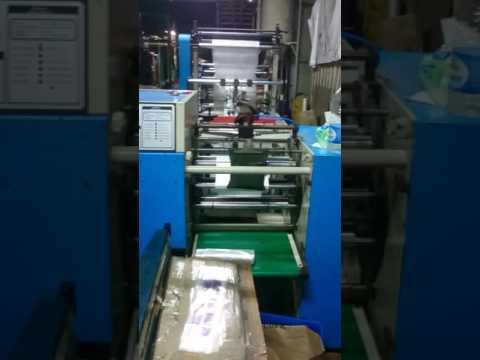 Mesin pemotongan plastik Roll