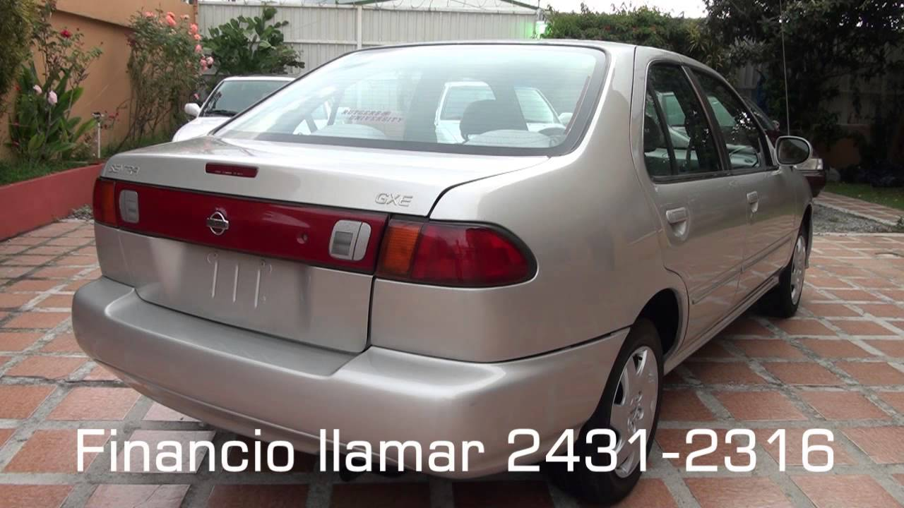 Nissan Sentra B14 1998 Manual 5ta, Champagne, GXE - YouTube