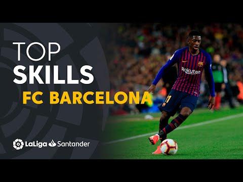 Best Skills FC Barcelona LaLiga Santander 2018/2019