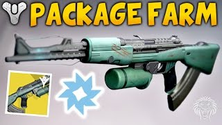 Destiny: BEST VANGUARD REP FARM! Super Fast Packages & Strike Farming Guide