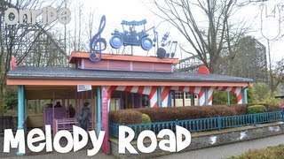 Walibi Belgium - Melody Road (onride)