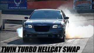 Twin Turbo HELLCAT In Disguise? Hellion 300c SRT8