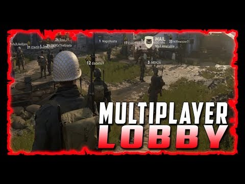Cod WW2 Lobby - There Is a Lot You Can Do!