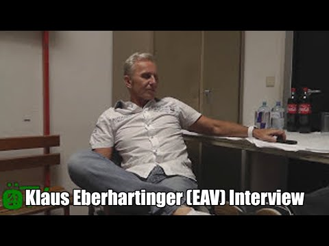 Klaus Eberhartinger (EAV) Interview 2-6-2012