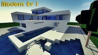 Minecraft Modern Ev Yapımı #1
