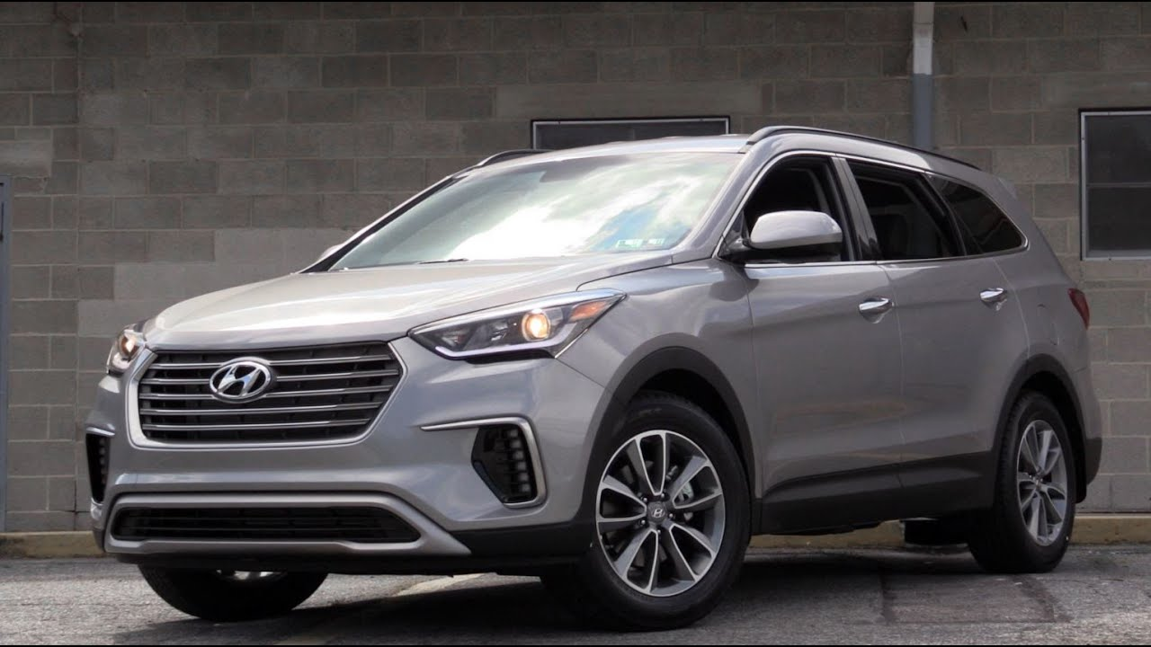 2016 Hyundai Santa Fe >> 2017 Hyundai Santa Fe SE: Review - YouTube