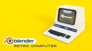 Retro Computer 3D Model Free Download | Free 3D Models