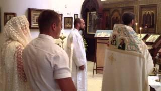 Свадьба в Бари - Венчание в Храме Николая Чудотворца