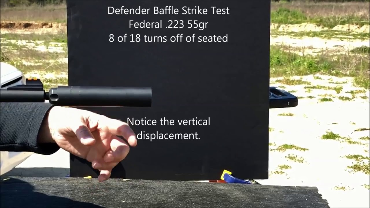 Defender Baffle Strike Test 20180315