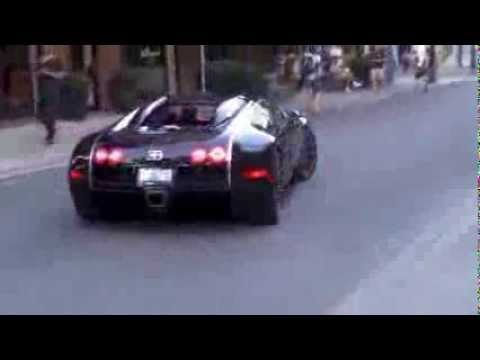 Shaking Drake's Hand In his Bugatti!